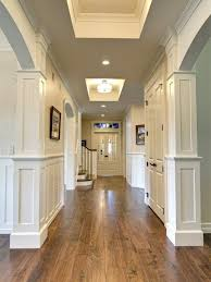 gallery classy flooring ideas. Walnut Hardwood Floors Against White Walls And Doors - Beautiful Gallery Classy Flooring Ideas