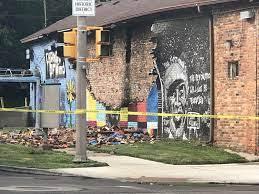 George Floyd mural in Ohio destroyed by ...