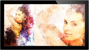 how to turn portrait into painting in photo a phlearn tutorial 17 07