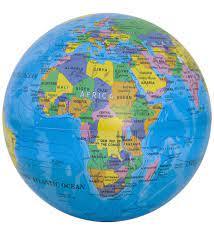 Led Işıklı Dönen Sihirli Dünya Küre Dünya Haritası