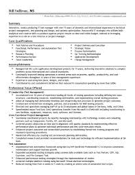 Test Manager Resume Template Unusual Test Manager Sample Resume