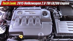 Tech Look: 2015 Volkswagen 2.0 TDI EA288 Engine - YouTube