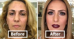 make up artist makes clients as old as 80 look decades younger shows just how powerful makeup is