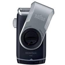 <b>Электробритва Braun MobileShave</b> M90, черный, серый — купить ...