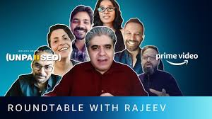 Amazon Prime Video - Roundtable with Rajeev Masand ft. Unpaused Directors | Unpaused | Facebook
