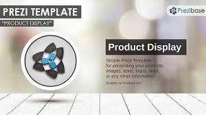 Product Display Prezi Presentation Template Creatoz