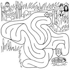Small Picture Baby Moses Coloring Pages FunyColoring