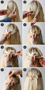 Blonde Lange Glatte Haare Flechten Sch Ne Frisur Hair Moderne Flechtfrisuren