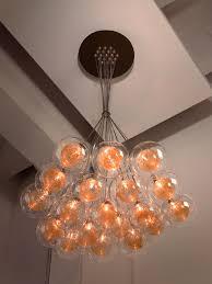 kadur custom blown glass chandelier modern custom cer light Освещение