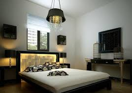 amazing fluorescent platform headboard mixed with creative bird feeders display and simple black white walls black white bedroom furniture