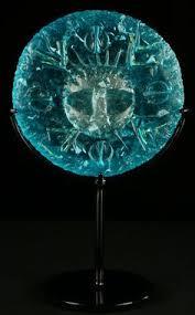 Dream Catcher Cast John Ditchfield blown glass sculpture the Dream catcher placed 84