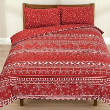 snowflake duvet cover uk red and white snowflake duvet cover thermal duvet cover with pillow case red check snowflake duvet cover blue