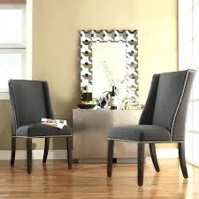 ring back dining chair beautiful dining room decor magnificent upholstered luxury grey oned back dining chair