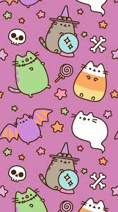 Cute Halloween Pusheen Wallpaper (Page ...