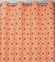 geometric orange curtains custom listing for geometric orange curtains uk