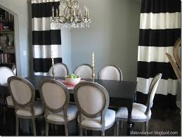 Exellent Black And White Curtains Lifelovelarson Diy Nosew On Decor