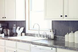 corrugated tin kitchen backsplash how to install tin backsplash