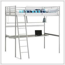 ikea loft bed frame with desktop