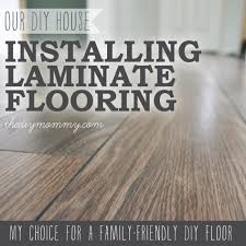 how to install laminate flooring the best floors for families how fit around kitchen units