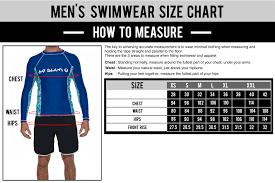 Icon Swim Size Chart Size Guide For Apparel Swimwear Underwear And Sandals 69slam