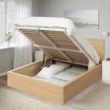 The humble ikea malm bed is as basic as beds come. Malm Bettgestell Mit Aufbewahrung Eichenfurnier Weiss Lasiert 160x200 Cm Ikea Schweiz