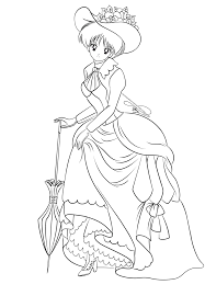 Lineart Vintage Lady Rei By Selinmarsou Deviantart Com On Coloriage Magique Voiture Cpll L