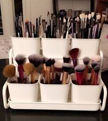 make up brush holder ikea filler is coffee beans so
