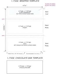 Hersheys Candy Bar Wrapper Template Microsoft Word Free For Candy