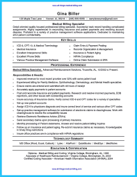 Coding Specialist Resume Sample Medical Billing Andxamples