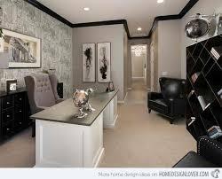 gray office ideas. Textured Wall Gray Office Ideas