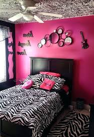 cheetah print bedroom decor wall for