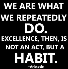 Aristotle Excellence Quote Fascinating AristotleQuotesWeAreWhatWeRepeatedlyDoarewhatrepeatedlydo