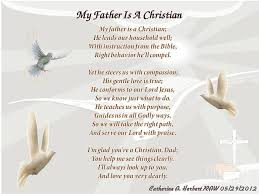 Christian Fathers Day Quotes Poems Best of Religious Fathers Day Poems