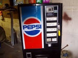 Dixie Narco Pepsi Vending Machine Delectable Dixienarco Pepsi Vending Machine