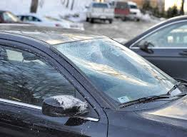 Slabs of ice blown off roofs of vehicles bombard drivers - Portland ...