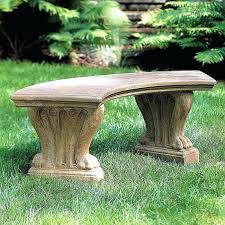 garden benches international curved cast stone backless garden bench garden benches wooden john lewis