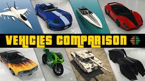 Gta Car Comparison Chart Gta V Gta Online Vehicles Comparison Gta V Gta Online