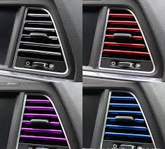 Choose to customise your tailored car mats today & choose carpet, trim, heel pad & logo design. Car Colored Diy A C Outlet Vent Strips Autodevoted Com