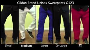 Gildan Open Bottom Sweatpants Size Chart 43 Explicit Gildan Sweatpants Sizing Chart