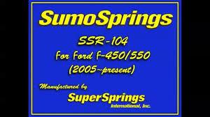 Super Springs Sumo Springs Rear Kit Gm