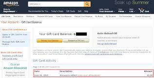 how to find amazon gift card balance