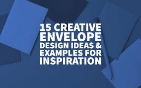 15 Creative Envelope Design Ideas Examples For Inspiration