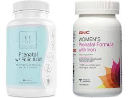 try prenatal vitamins for hair growth
