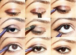 an edgy brown smokey eye makeup tutorial
