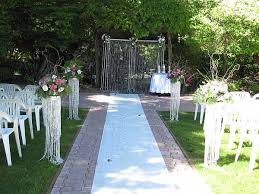 Captivating Simple Outside Wedding Ideas Simple Outdoor Wedding Decoration  Ideas On Decorations With