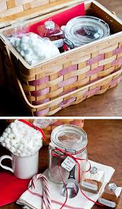 hot cocoa mix gift basket
