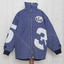 Childs X 10 Technical Jacket In Indigo With White 3