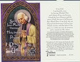 We did not find results for: Amazon Com Saint St Jean Marie Vianney Holy Prayer Card Patron Of Priests Greeting Cards Office Products