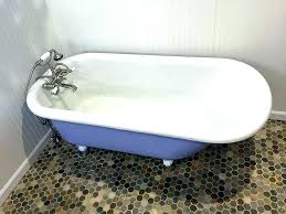 cost to refinish clawfoot tub tubs refinishing st tub refinish before 1 bathtub refinishing cost cost cost to refinish clawfoot tub