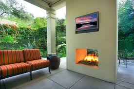 two sided gas fireplace beautiful outdoor modern two sided fireplace by designed by gary